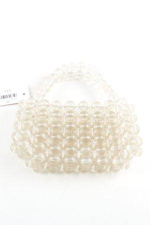 MNG Minitasche wollweiß extravaganter Stil