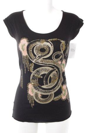 MNG Print-Shirt Motivdruck Casual-Look