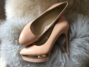 MNG Pumps, Nude rose/gold - Lackpumps, Gr. 38 NEU