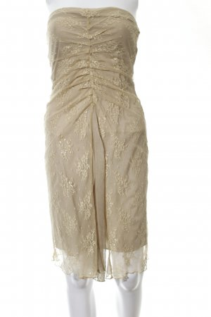 MNG Tube Dress gold-colored elegant