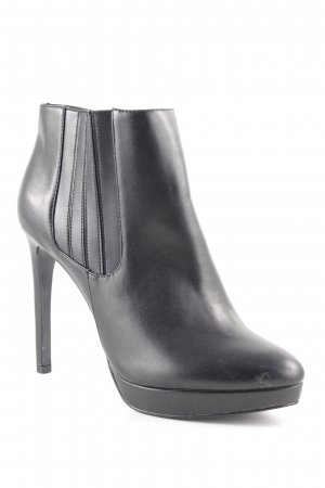 MNG Schlüpf-Stiefeletten schwarz extravaganter Stil