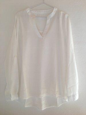 MNG schöne Hemd-Bluse, weiß, Gr. S-M