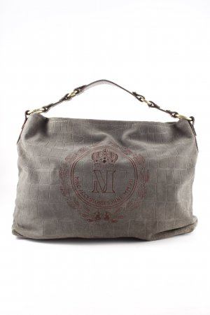 MNG Shopper hellgrau Animalmuster Business-Look