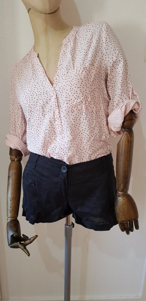 MNG Basics Shorts nero-blu scuro Cotone