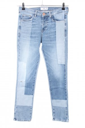 MNG Slim Jeans blau Casual-Look
