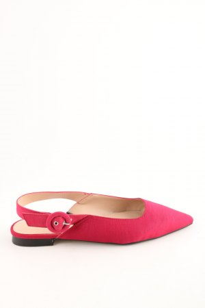 MNG Slingback-Pumps rot Business-Look