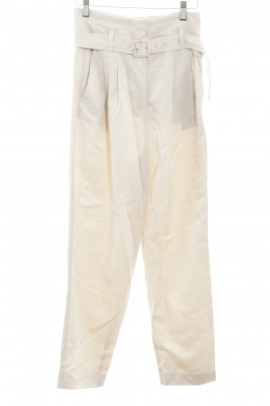 MNG Stoffhose creme Casual-Look