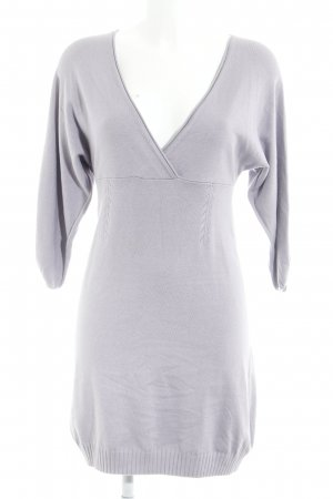 MNG Strickkleid blasslila Casual-Look