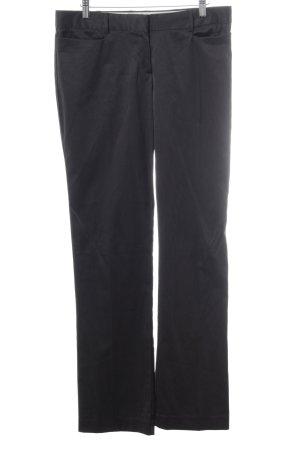 MNG SUIT Pantalon de costume noir-blanc cassé motif rayé élégant