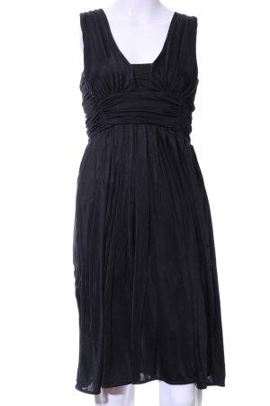 MNG SUIT Babydoll Dress black elegant