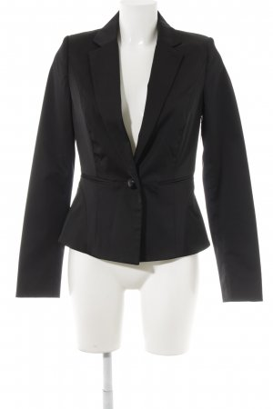 MNG SUIT Jerseyblazer schwarz Business-Look