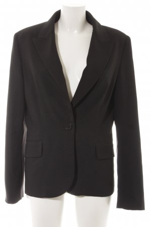 MNG SUIT Kurz-Blazer schwarz Business-Look