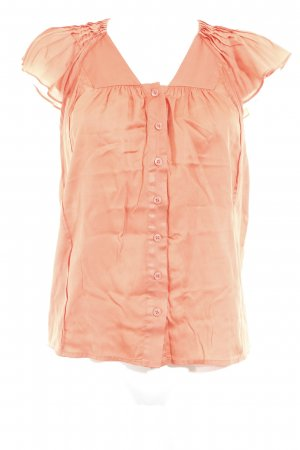MNG SUIT Kurzarm-Bluse orange