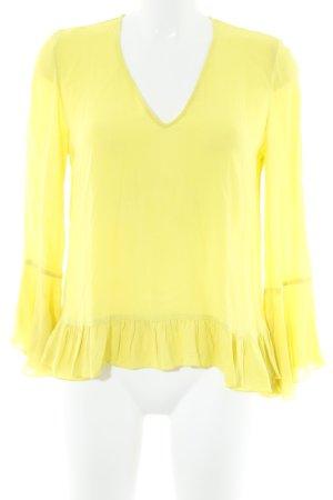 MNG SUIT Langarm-Bluse neongelb Casual-Look