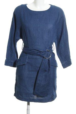 MNG SUIT Langarmkleid blau Casual-Look