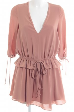 MNG SUIT Langarmkleid nude Casual-Look