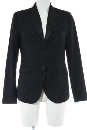 MNG SUIT Long-Blazer schwarz Business-Look