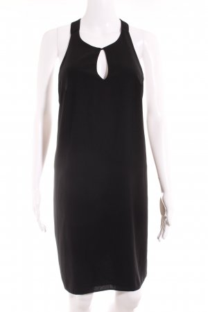 MNG SUIT Neckholderkleid schwarz Elegant