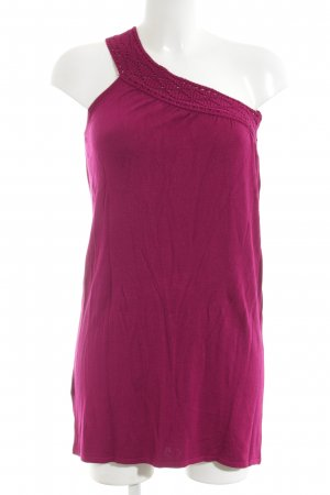 MNG SUIT One-Shoulder-Top violett Casual-Look