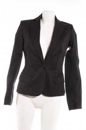MNG SUIT Smoking-Blazer schwarz Business-Look