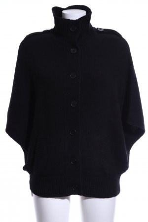 MNG SUIT Knitted Cardigan black casual look