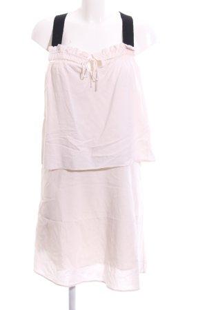 MNG SUIT Trägerkleid pink-schwarz Casual-Look