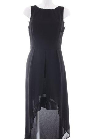 MNG SUIT Jurk met langere achterkant zwart elegant