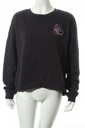 MNG Sweatshirt dunkelblau Street-Fashion-Look