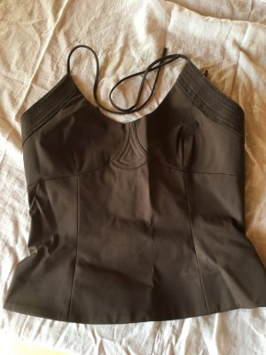 MNG Tolles Bustier, gold-braun chanchierend, Gr. M