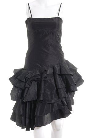 MNG Trägerkleid schwarz extravaganter Stil