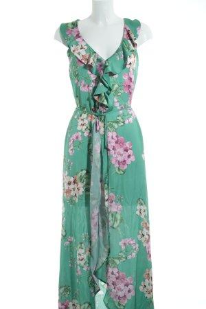 MNG Robe portefeuille motif de fleur style décontracté
