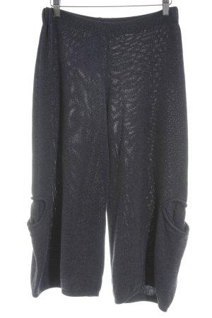 Mo Koshji Pantalone culotte blu scuro stile casual