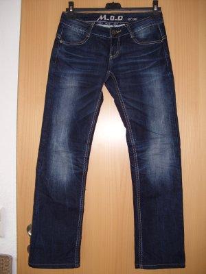 MOD Jeans Hose gerade Form (straight)