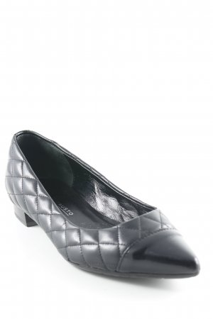 Moda Di Fausto Spitz-Pumps schwarz Elegant