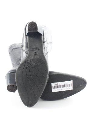 Moda Di Fausto Bottes stretch noir style décontracté