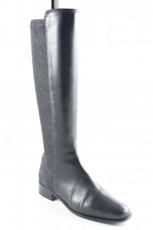 Moda Di Fausto Stretch Boots black casual look