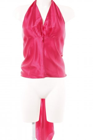 Moda International Seidentop magenta extravaganter Stil