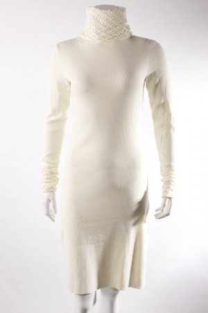 Moda International Strickkleid creme