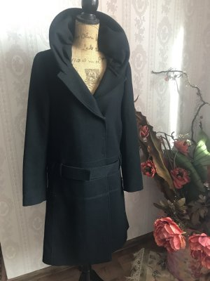 Frock Coat black wool