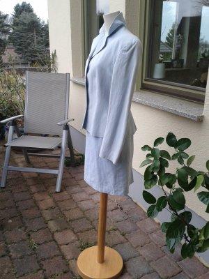 Ladies' Suit azure cotton
