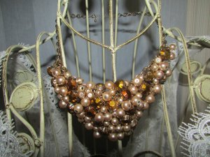 H&M Necklace oatmeal-nude