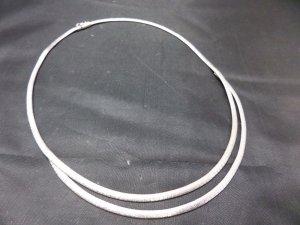Vintage Collar estilo collier color plata