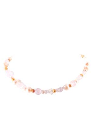 Modern Eves Collier de perles multicolore style romantique