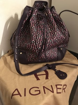 Aigner Pouch Bag multicolored imitation leather