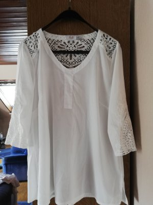 Paola! Lace Blouse natural white-cream