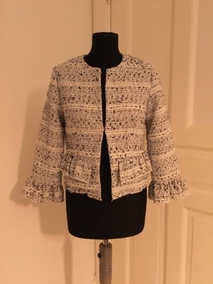 Moderne Boucle-Jacke