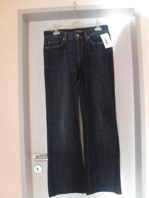 Cambio Jeans Pantalon bleu foncé coton