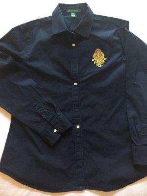 Moderne Ralph Lauren Bluse mit aufwendigem Emblem
