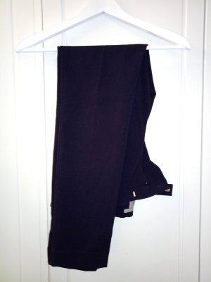 H&M Pantalon à pinces bleu foncé-bleu