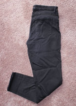 Moderne Stretch Hose in schwarz